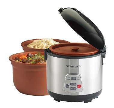 VitaClay Chef Gourmet 8-Cup Rice and Slow Cooker Review