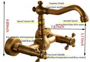 wall-mounted faucet review