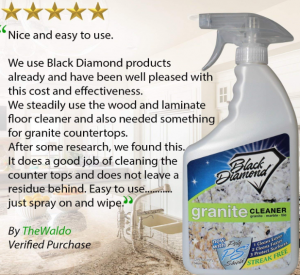 Black Diamond Stoneworks Granite Counter Cleaner